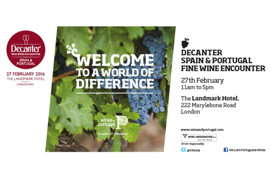DECANTER – PORTUGAL & SPAIN FINE WINE ENCOUNTER